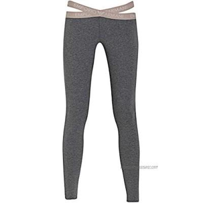 Emporio Armani Women's Iconic Logoband Leggings Pants