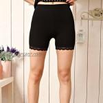 Liang Rou Women's Ultra Thin Stretch Short Leggings Color 3-Pack