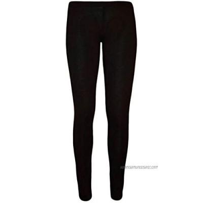 Marietta Ladies Viscose Plain Stretchy Soft Womens Leggings Elasticated Waist 8-26