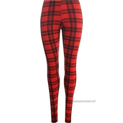 Shop & Stop New Womens Leopard Animal Tartan Prints Ladies Stretch Full Length Leggings Pants 8-16