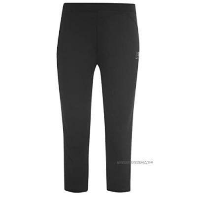 Womens Ladies Running Capri 3/4 Pants Exercise Gym Leggings