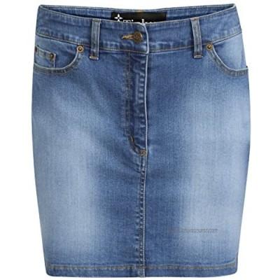 TTC Denim Stretch Mini Skirt Stone wash Mini Skirt Di 14