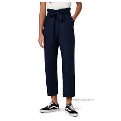 Brand - find. Women's Paperbag Tie Waist Trouser