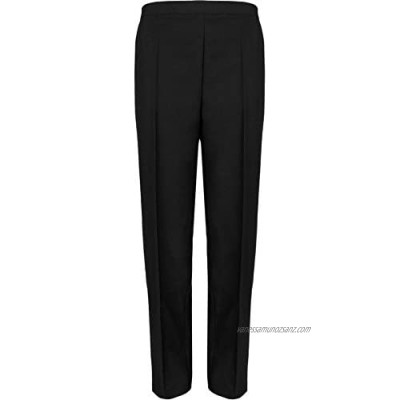 WearAll Ladies Elasticated Pocket Trousers Womens Pants Sizes 12-24