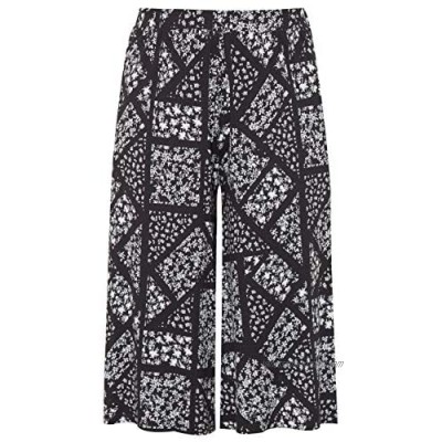 Yours Clothing Womens Plus Size Culottes