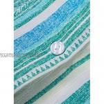 Reukree Womens Button Down Blouse Roll Up Sleeve Chiffon V Neck Stripes Shirts