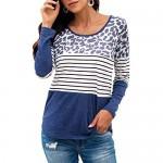 Lachi Womens Long Sleeve Belted Asymmetrical Hem Peplum Blouse Top