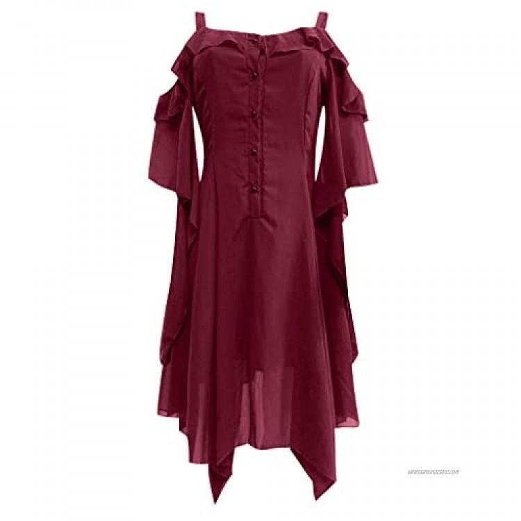 kolila Womens Chiffon Plus Size Ruffle Flattering Cape Sleeve Bodycon Party Pencil Dress Batwing Cape Mini Dresses Dress