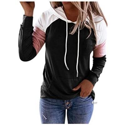 SEWORLD Women Hoodie Sweatshirt Casual Pullover Tunic Top Long Sleeve Shirt Pullovers Hooded Jacket Coats
