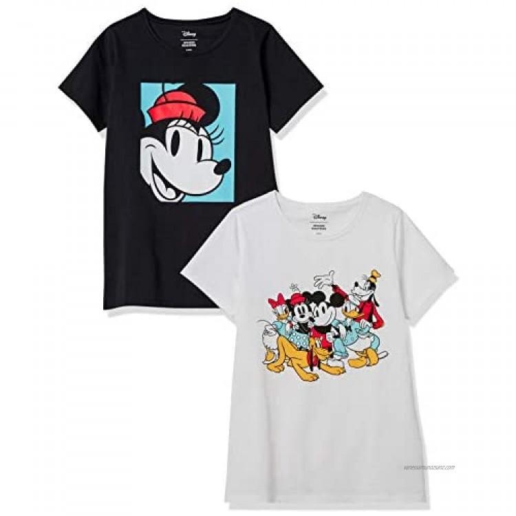 Essentials Women's Disney Star Wars Marvel Crew-Neck T-Shirts