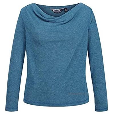 Regatta Women's Frayda Lightweight Wool Look Cowl Neck Style T-Shirts/Polos/Vests