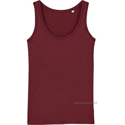 greenT Womens Organic Cotton Dreamer Iconic Fitted Tank Top