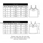 PF Women's Sexy Lace Camisole with Premium Cotton Tank Top with Adjustable Straps Italian Designed Ultra Soft