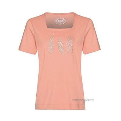 TIGI Coral Feather Embroidery TOP