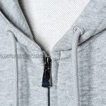 N/A Spring and Autumn Men's Zip Pullover Hooded Cardigan Cotton Sport Basic Sweater Jacket