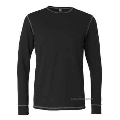 Canvas - Long Sleeve Contrast Stitch Thermal T-Shirt (3500)