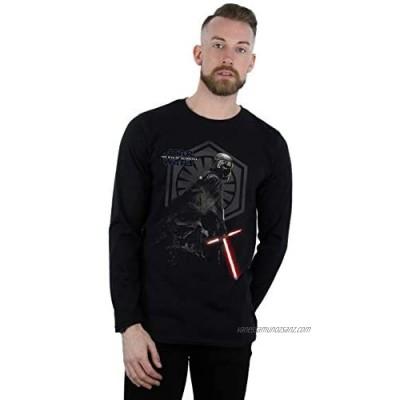 Star Wars Men's The Rise of Skywalker Kylo Ren Vader Remains Long Sleeved T-Shirt