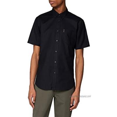Ben Sherman Black Short Sleeved Oxford Shirt