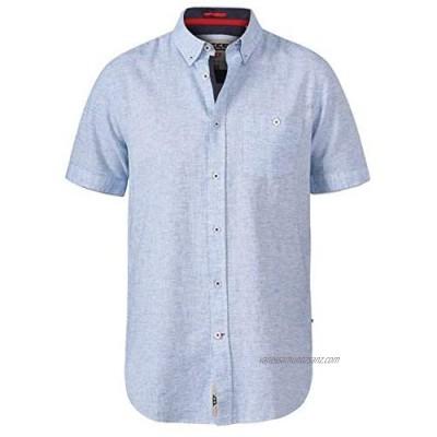D555 Duke Mens Reid Big Tall Linen Shirt