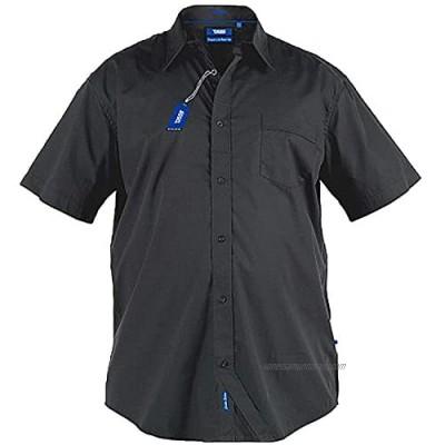 D555 Mens Duke Big Tall King Classic Short Sleeve Shirts