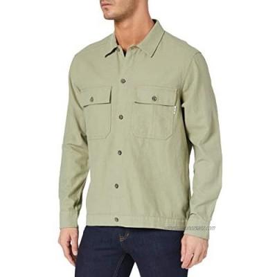 Only & Sons Men's Onskennet Life Ls Linen Overshirt Noos Shirt
