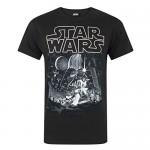 Star Wars A New Hope Poster Men's T-Shirt