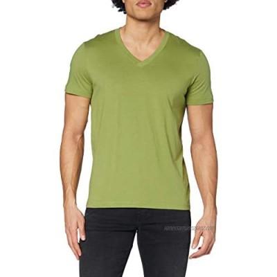 Stedman Apparel Men's James V-Neck/ST9210 Premium Regular Fit Classic Short Sleeve T-Shirt