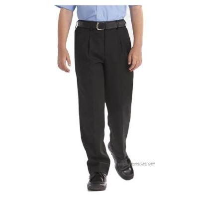 4D-Uniforms Senior Premium Quality Smart-Generous Sturdy Fit Longer Leg Trouser-Black