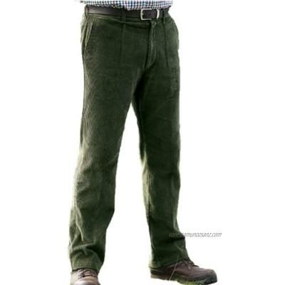 Champion Truro Mens Classic Single Pleat Front Cotton Corduroy Trouser 3431