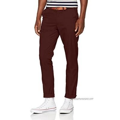 Selected Men's Slhslim-Yard B. Chocolate Pants W Noos Trouser