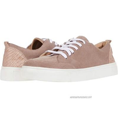 KAANAS Paris Lace-Up Sneaker w/ Contrast Heel